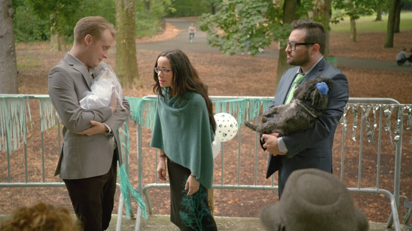 dog wedding broad city