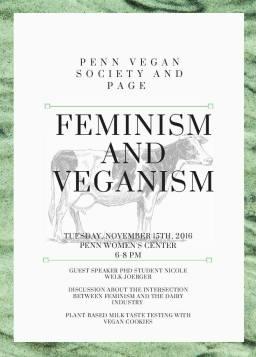 Feminism and Veganism