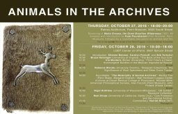 Animals in the Archives Symposium